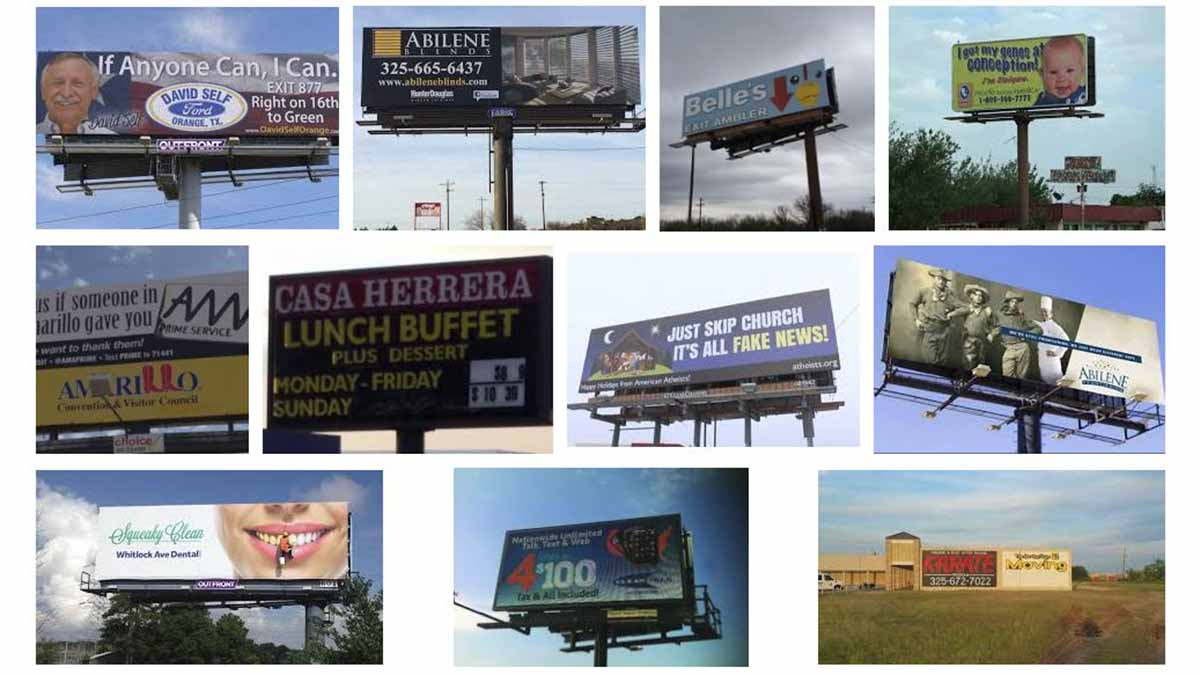 Abilene, TX Billboards