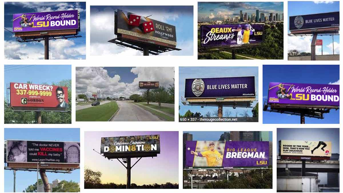 Baton Rouge, LA Billboards