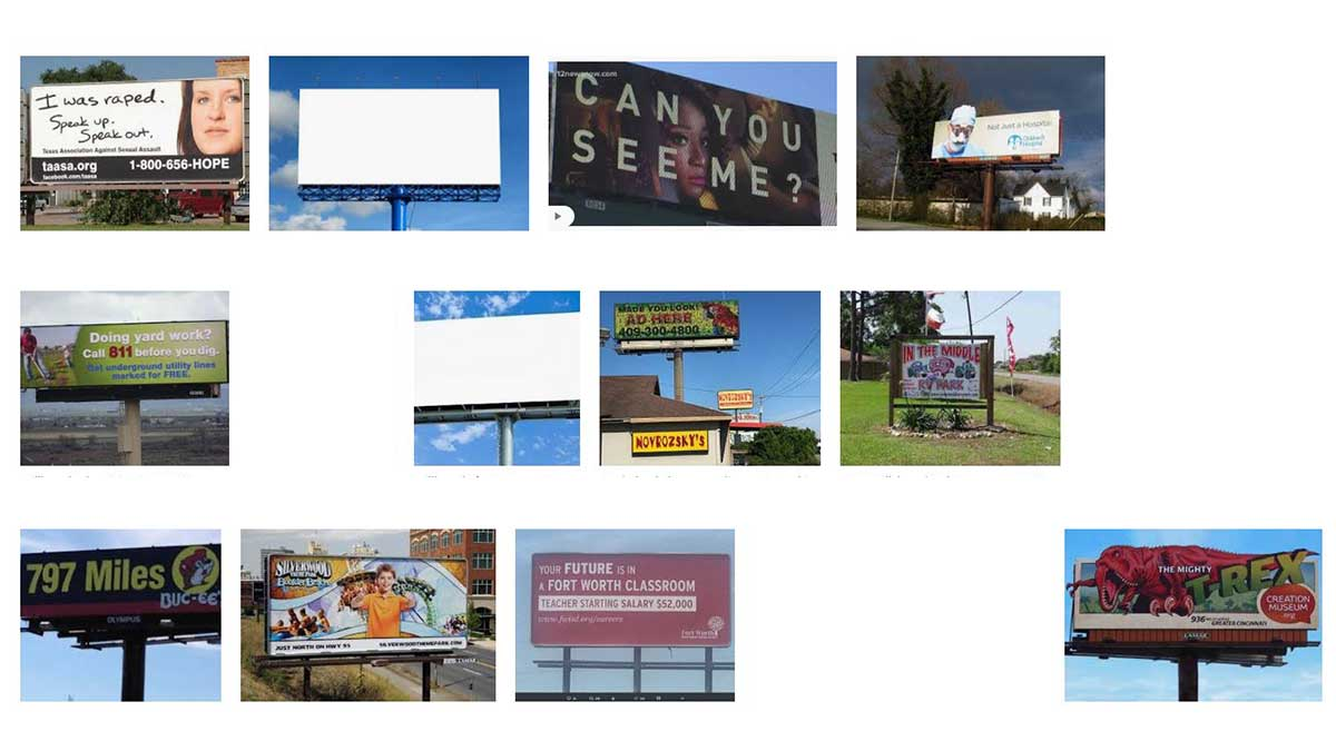 Beaumont and Port Arthur, TX Billboards