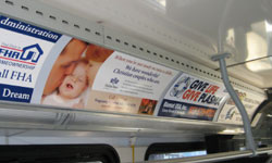 Bus Interior Advertising