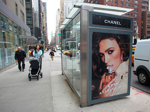 Bus Stop Shelter Ads
