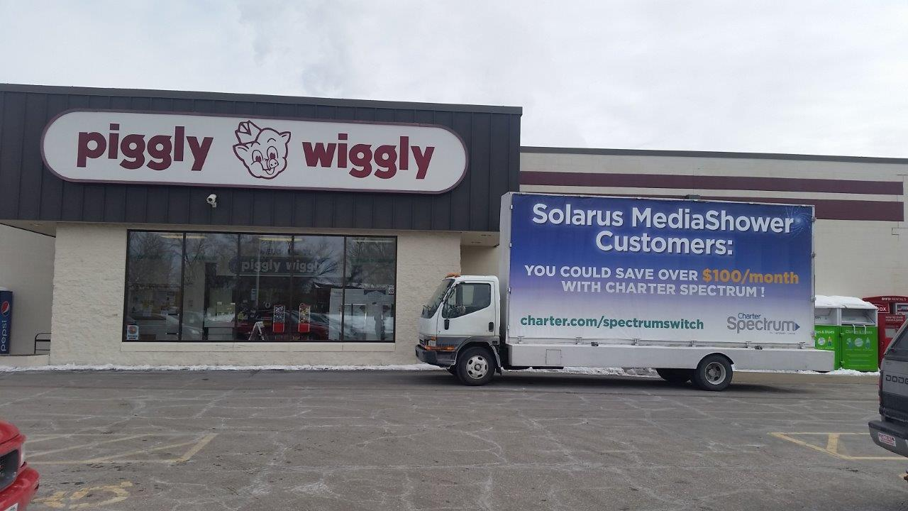 Mobile Billboards in 100 Cities - Truck Side Advertising Company