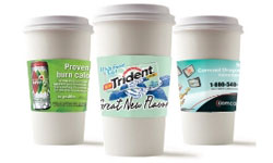 Coffee Cup Sleeve Advertising