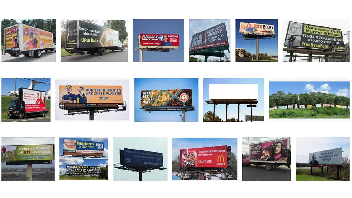Columbia and Jefferson City, MO Billboards