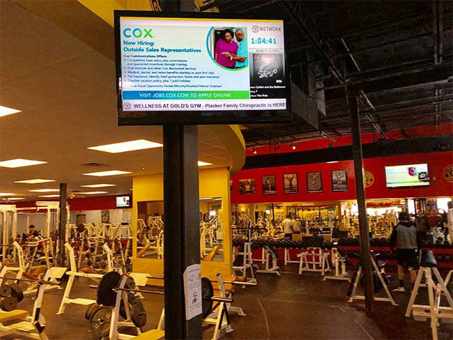 Gym Fitness Center And Health Club Advertising In Over 200 Cities