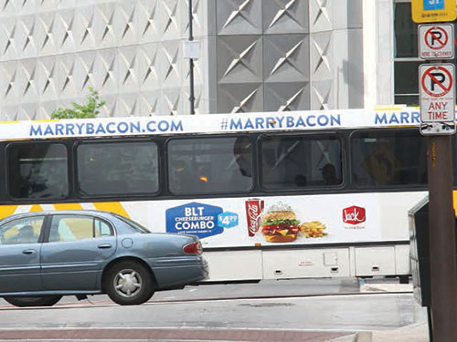 Dallas City Bus Advertising Info