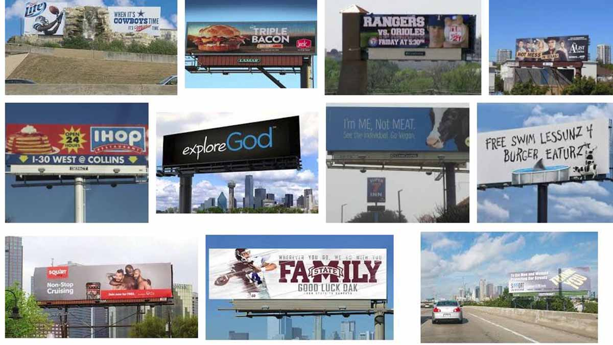 Dallas, TX Billboards