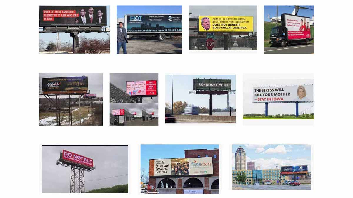 Des Moines, IA Billboards
