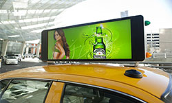 Digital/LED/Video Taxi Advertising