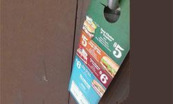 Door Flyer Advertising