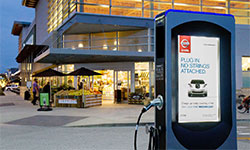 Electric Vehicle Charging Advertising