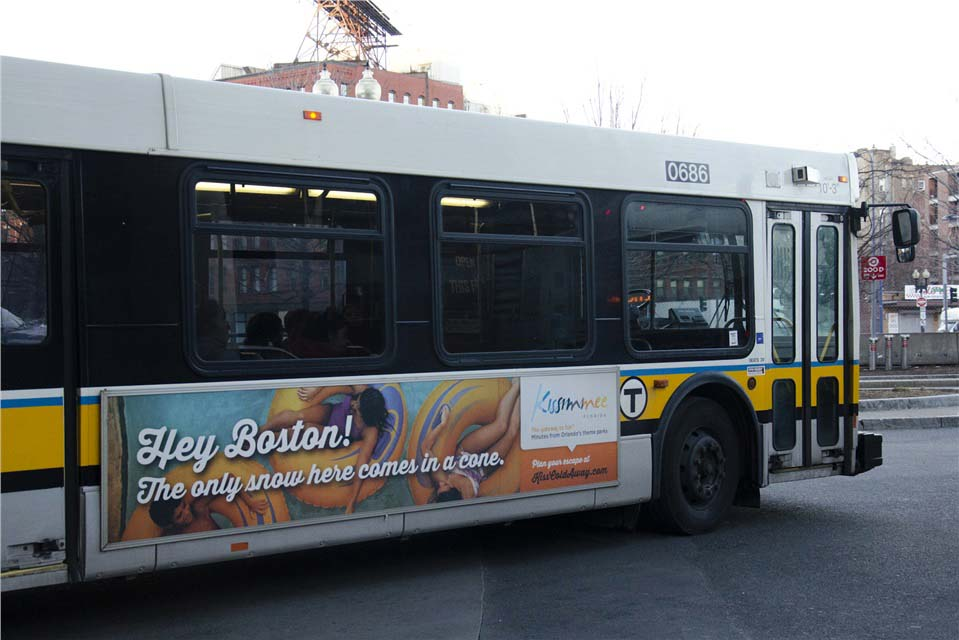 Boston City Bus Ads Get Rate Info Here
