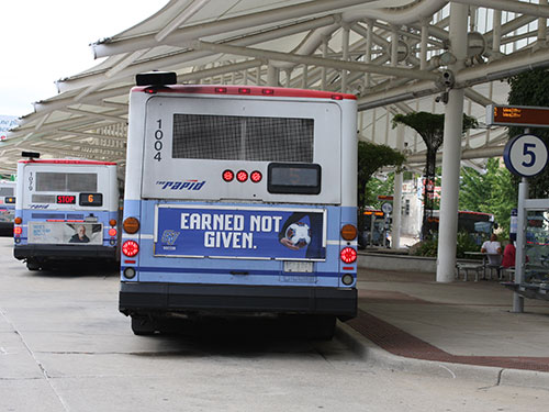 Grand Rapids Transit Advertising