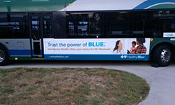 Greensboro Bus Advertising