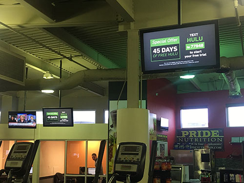 Gym, Fitness and Health Club Advertising