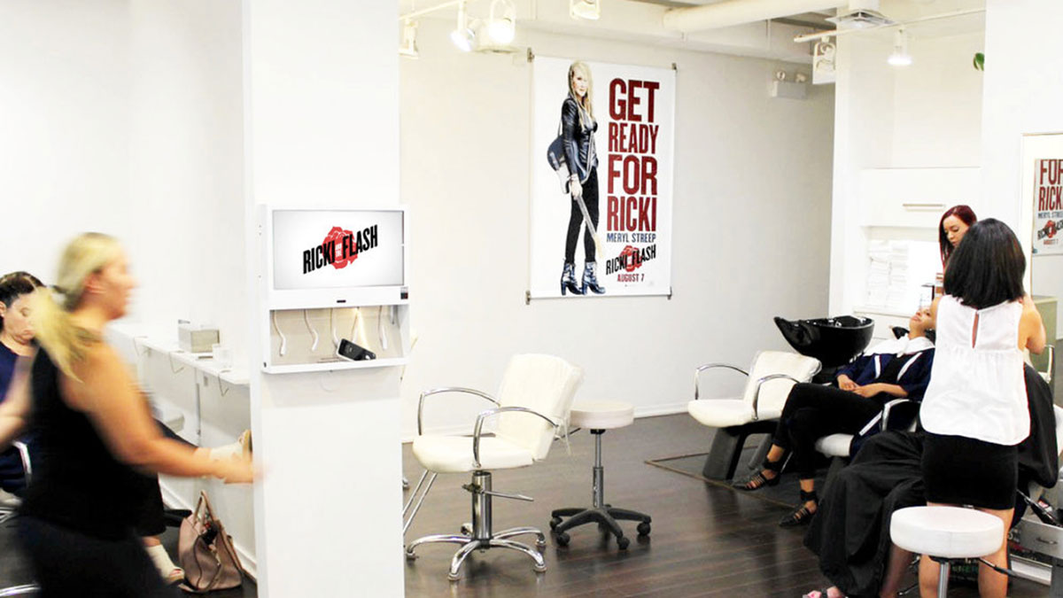 Hair and Nail Salon, Spa and Barbershop Advertising in Over 7 Cities