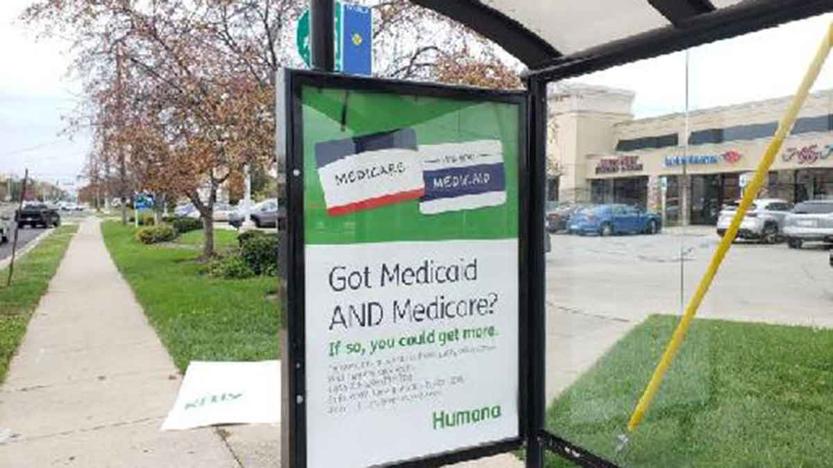 Humana Indianapolis Bus Advertising