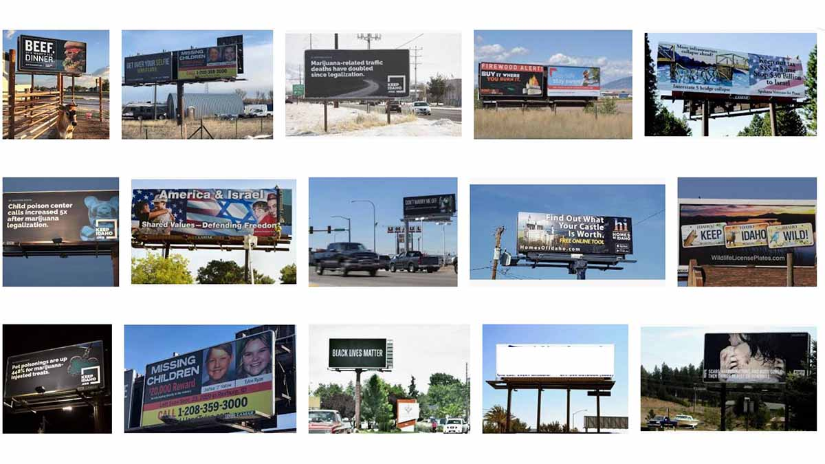 Idaho (ID) Billboards
