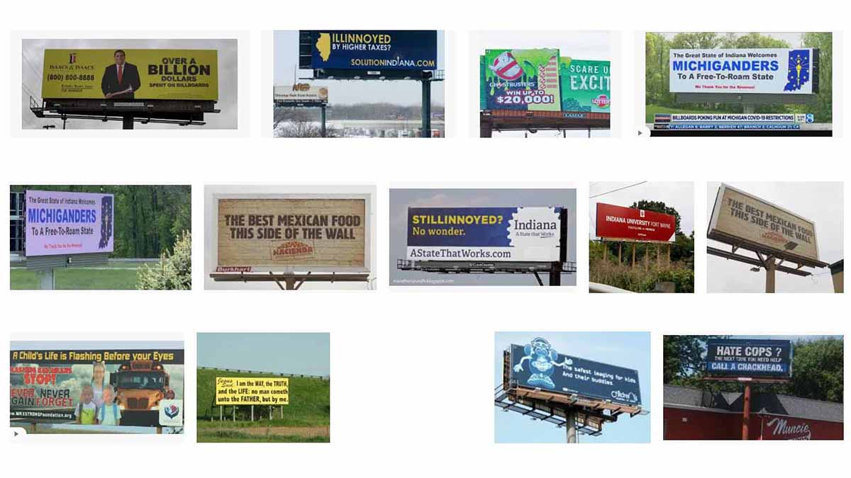 Indiana (IN) Billboards