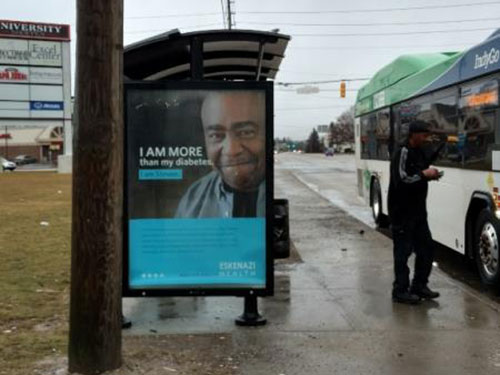 Indianapolis Bus Stop Shelter Advertising