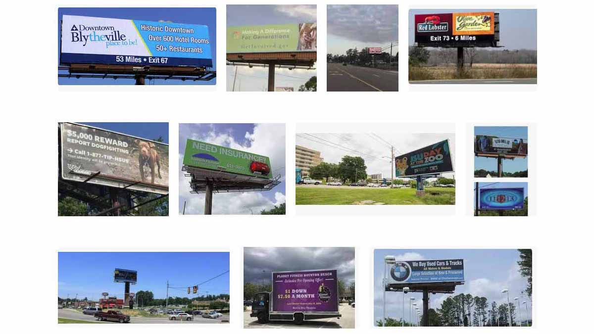 Jackson, MS Billboards