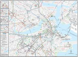 Boston Bus Routes Map
