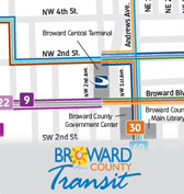 Fort Lauderdale Bus Routes Map