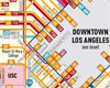 Los Angeles Bus Routes Map