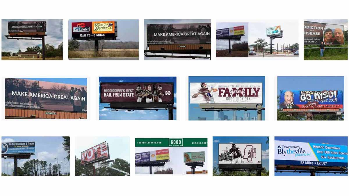 Mississippi (MS) Billboards