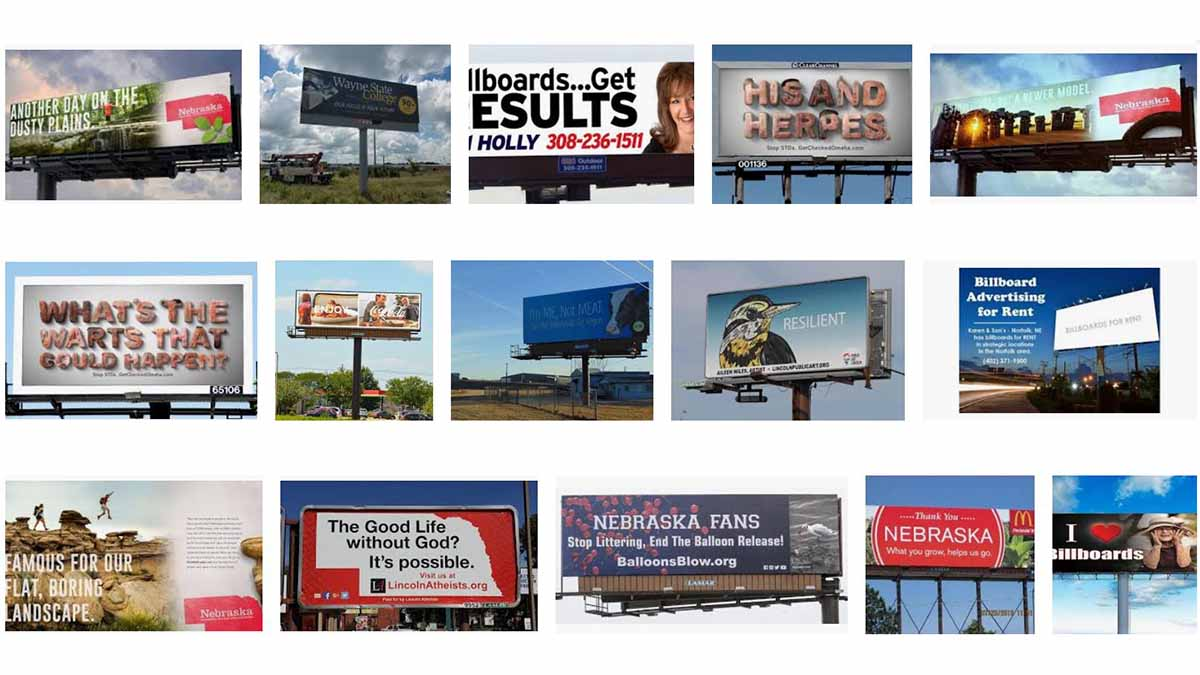 Nebraska (NE) Billboards