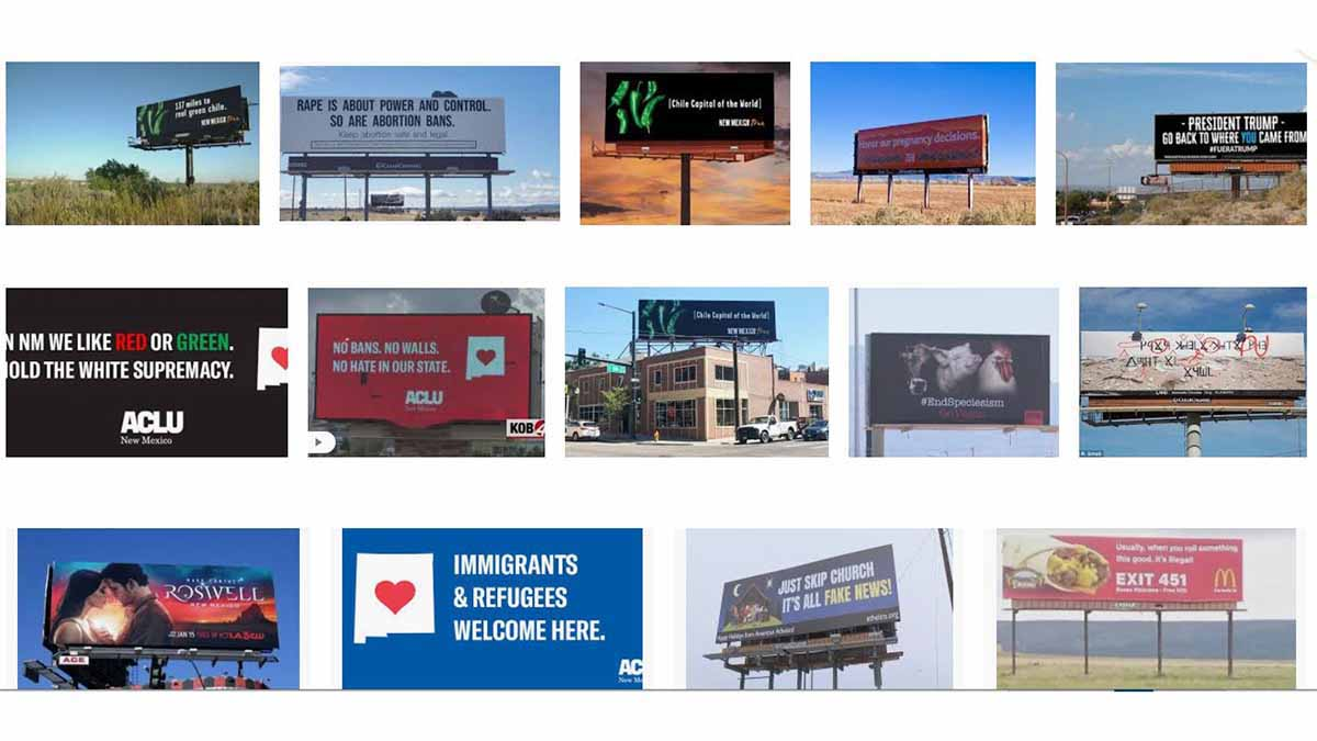 New Mexico (NM) Billboards