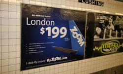 New York City Subway Advertising
