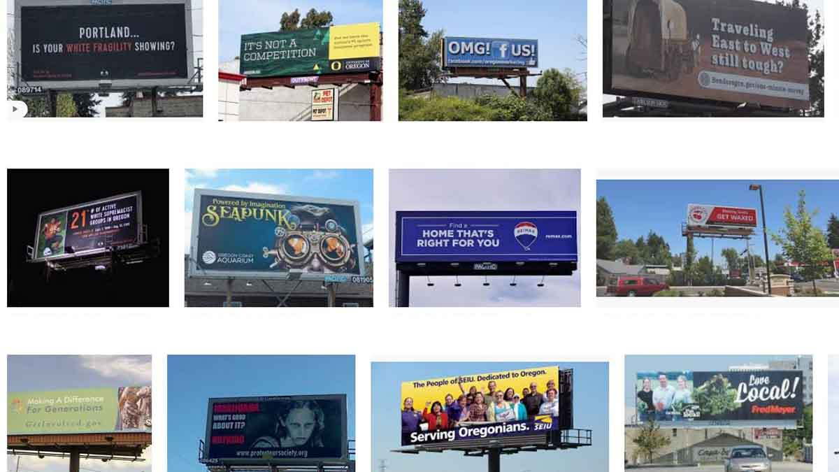 Oregon (OR) Billboards