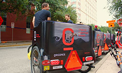 Pedicab Advertising