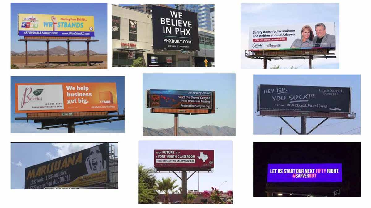 Phoenix, AZ Billboards