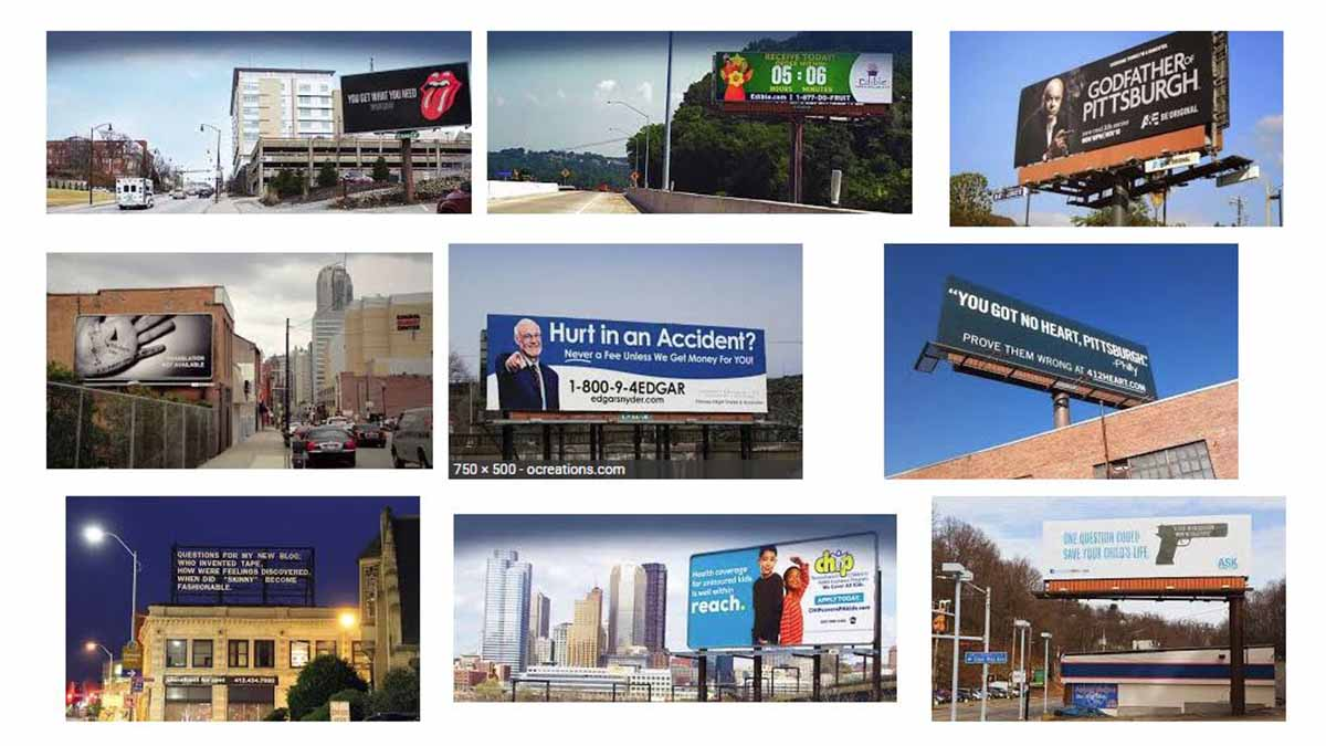 Pittsburgh, PA Billboards