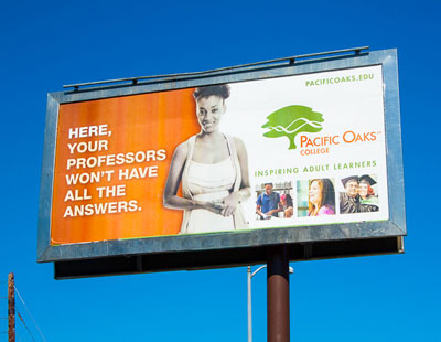 Pacific Oaks College Uses Multiple Media Formats To Make A