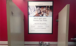 Restroom Advertising (Indoor Advertising)