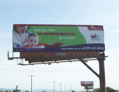 Riverside Wic Program Selects Blm For Billboard And