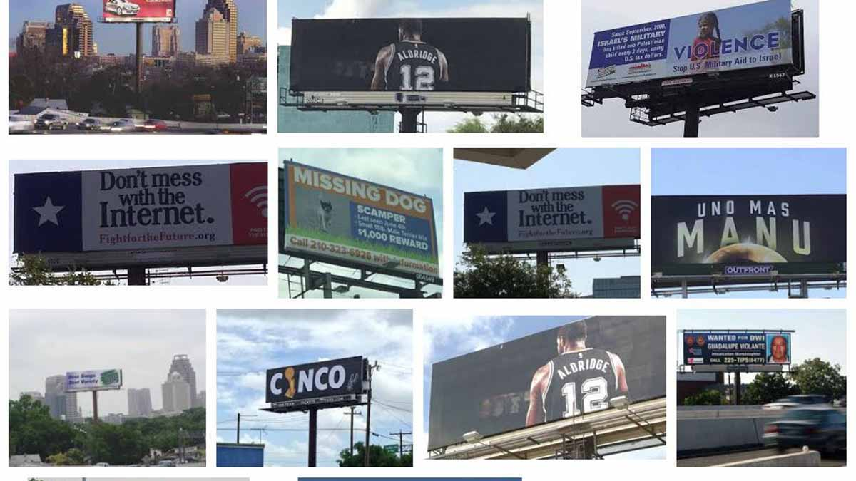 A times square billboard hits ocasio