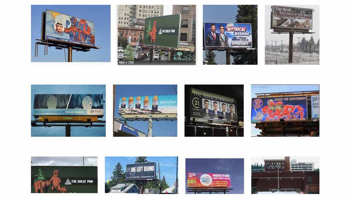 Spokane, WA Billboards
