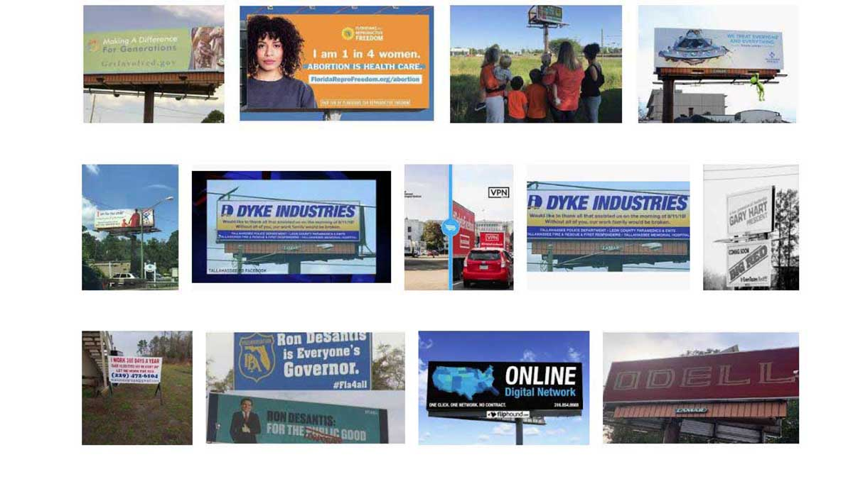 Tallahassee, FL Billboards