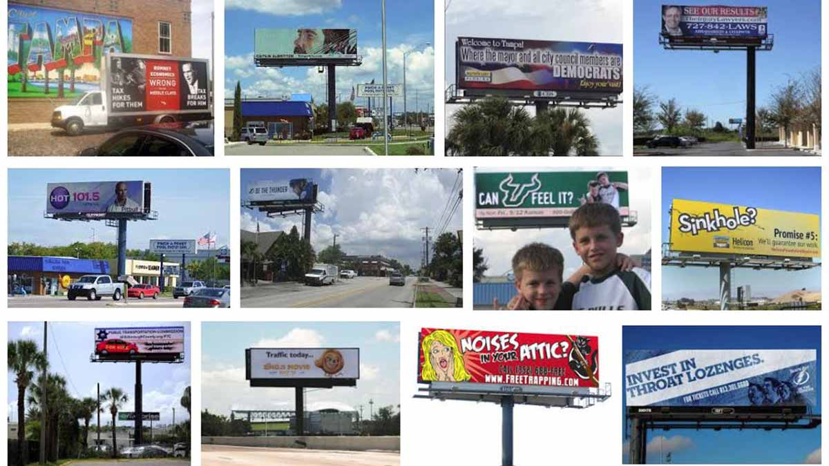 Tampa, FL Billboards