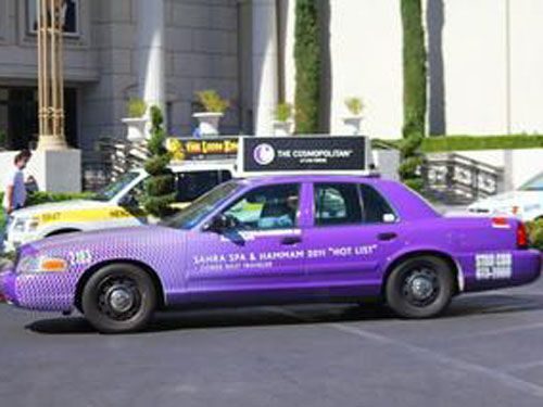 Taxi Full Wrap Advertising