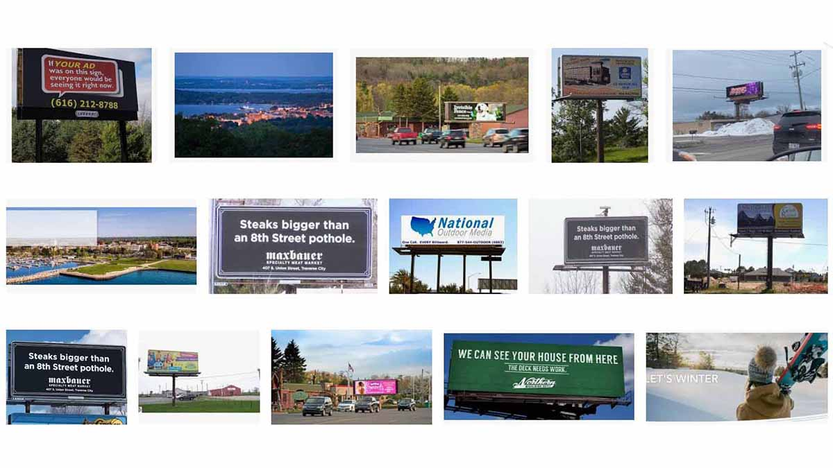 Traverse City, MI Billboards