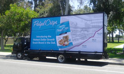 Mobile Billboard Advertising (Truck Side Advertising)