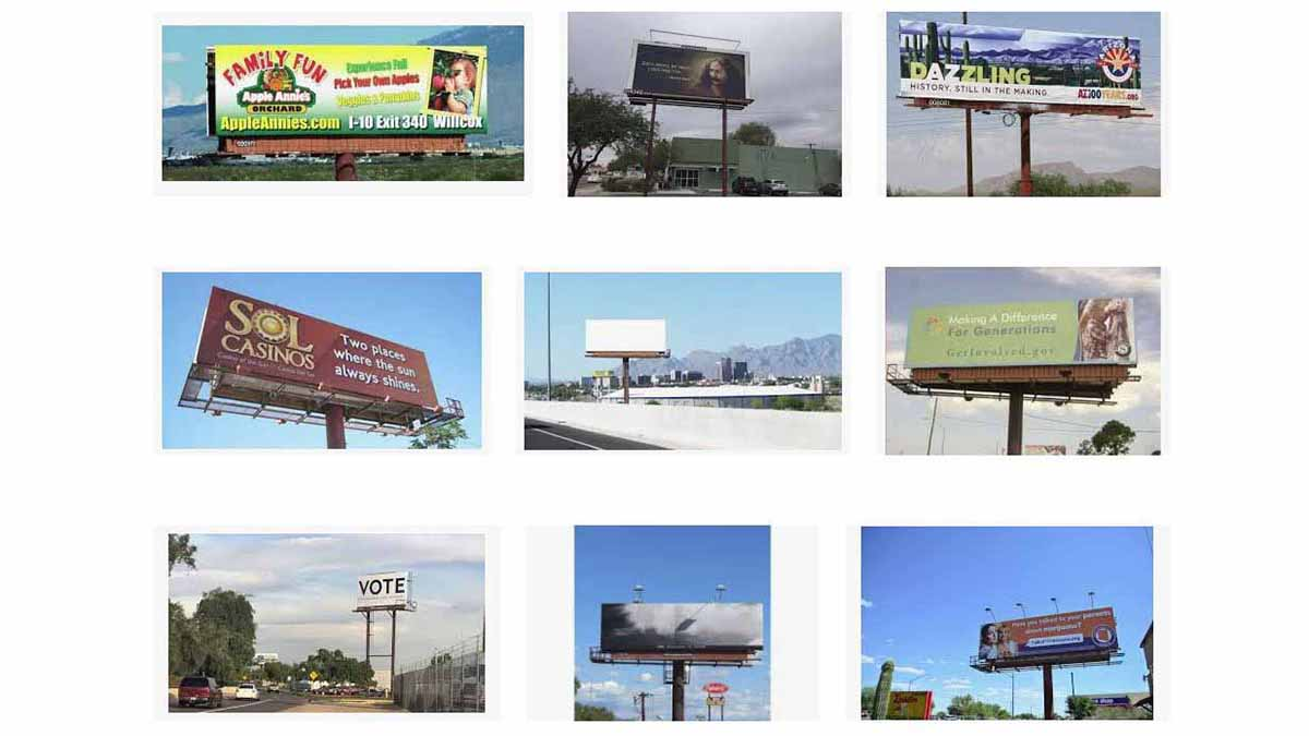 Tucson, AZ Billboards