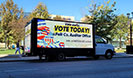 Voting Election Digital Mobile Billboard Truck Ads